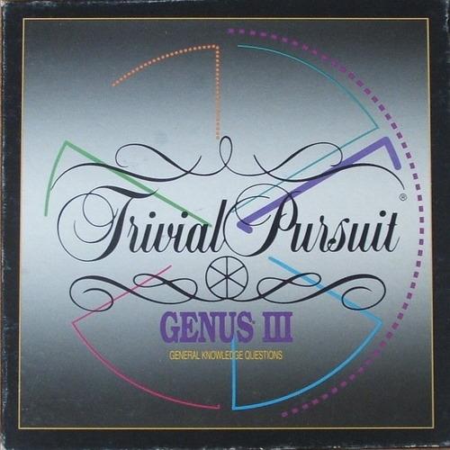 Trivial Pusuit: Genus III