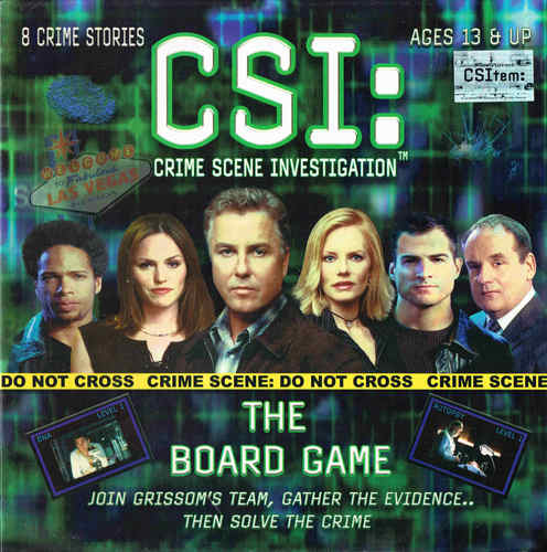 CSI: The Board Game