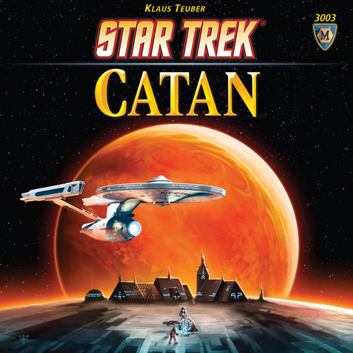 Settlers of Catan Star Trek Edition