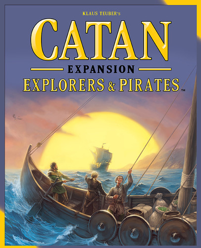 Settlers of Catan Explorers & Pirates Expansio