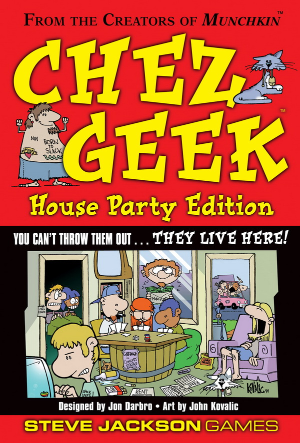 Chez Geek Party Edition