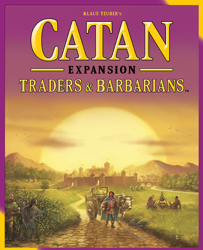 Settlers of Catan Traders and Barbarians Expansion