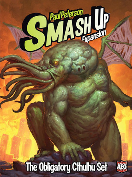 Smash Up - The Obligatory Cthulhu Set Expansion