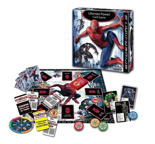 Spiderman Ultimate Power Card Game