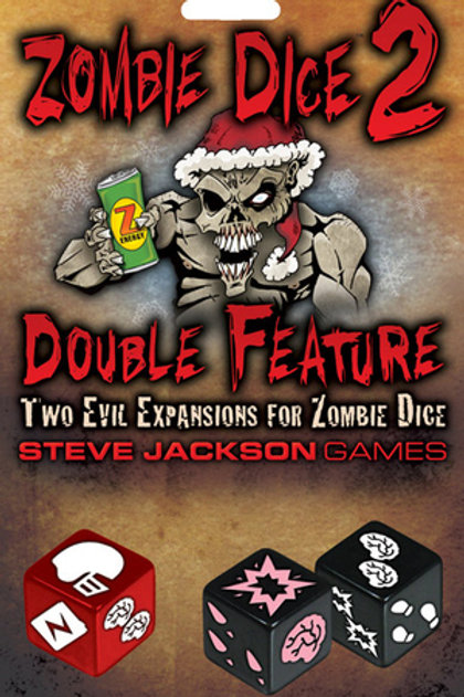 Zombie Dice 2 (expansion to Zombie Dice)