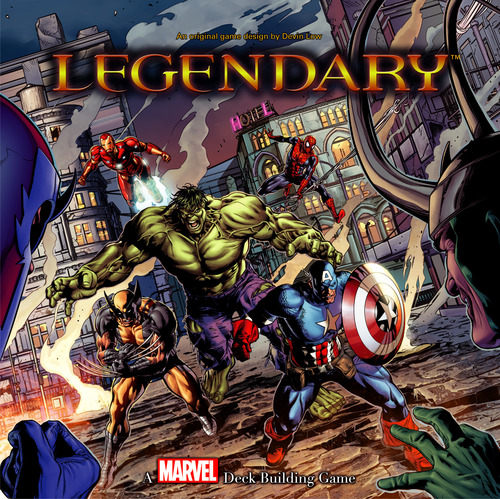 Legendary A Marvel Deck Building Game