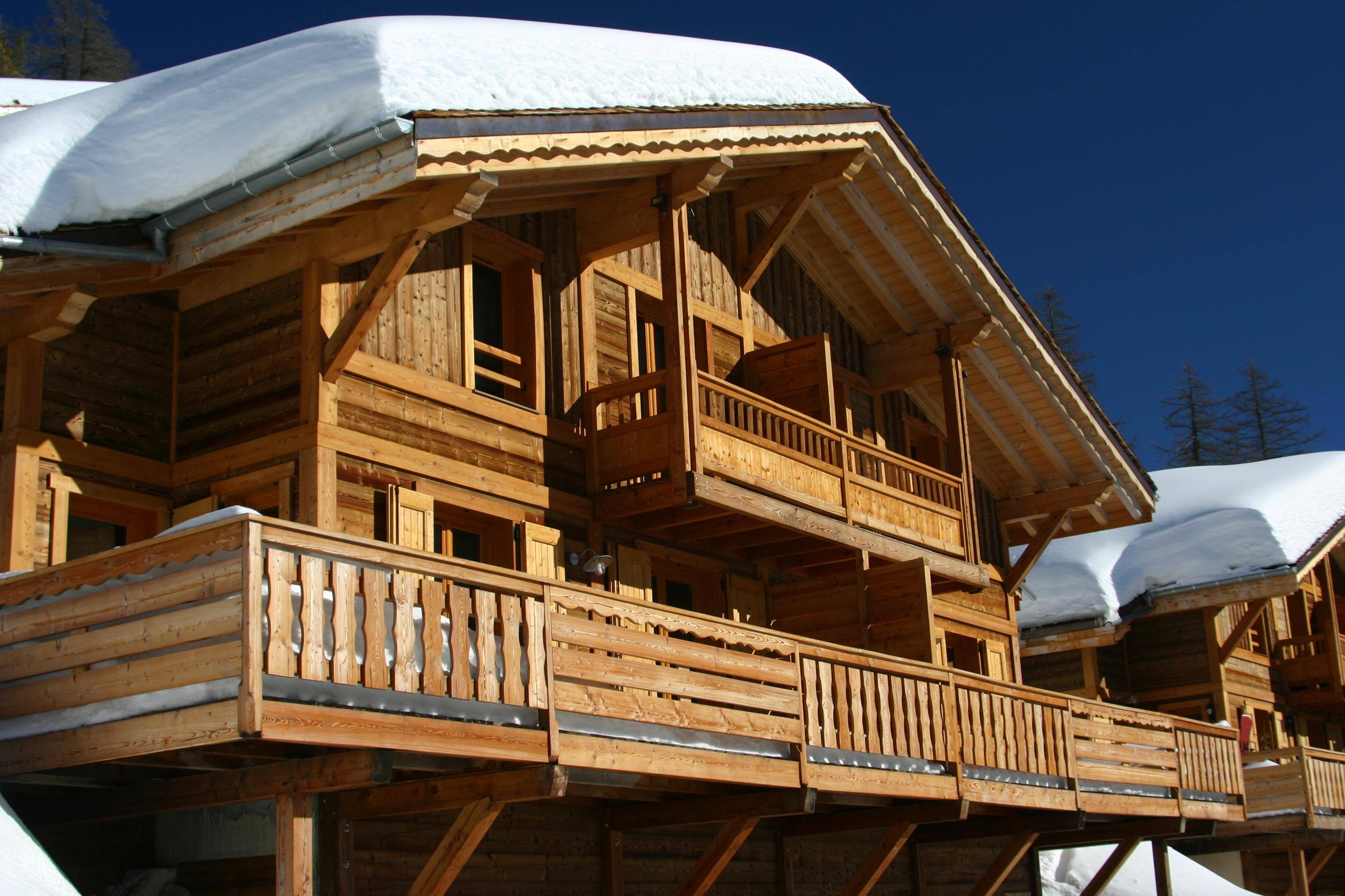 residence chalets du Mercantour