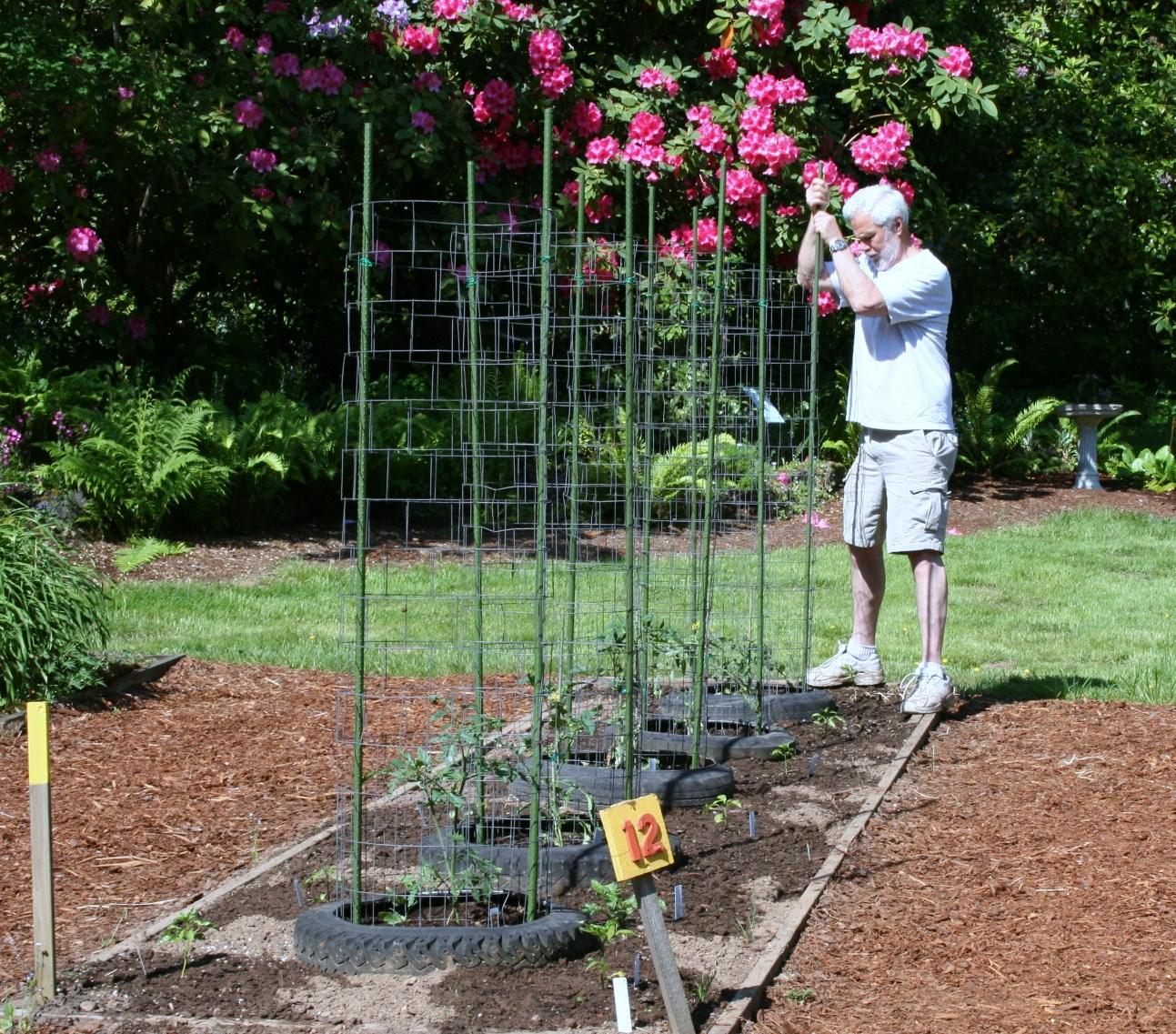 Demonstration Garden....