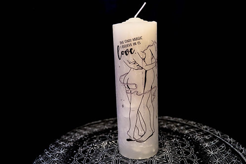 The Oracle Shop - Believe in Love Candle