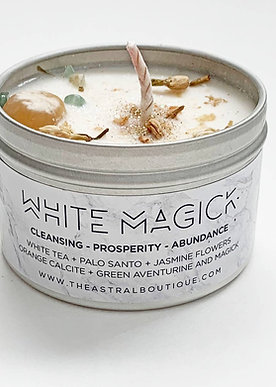 White Magick Candle