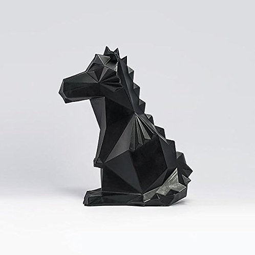 Pyro Dragon Candle - Black