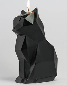 Pyro Cat Candle - Black