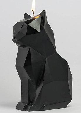 Pyro Cat Candle - Black