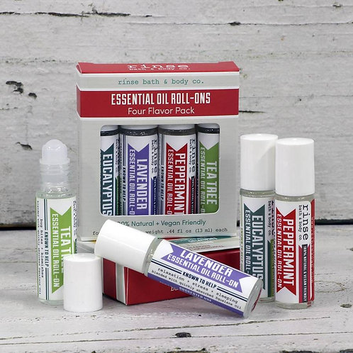 Roll-On Essential Oil - Pack of 4