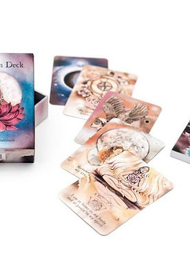 The Moon Deck (44 cards + guidebook + printed paper box)