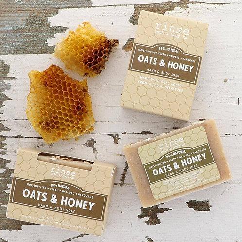 Oats & Honey Hand & Body Soap