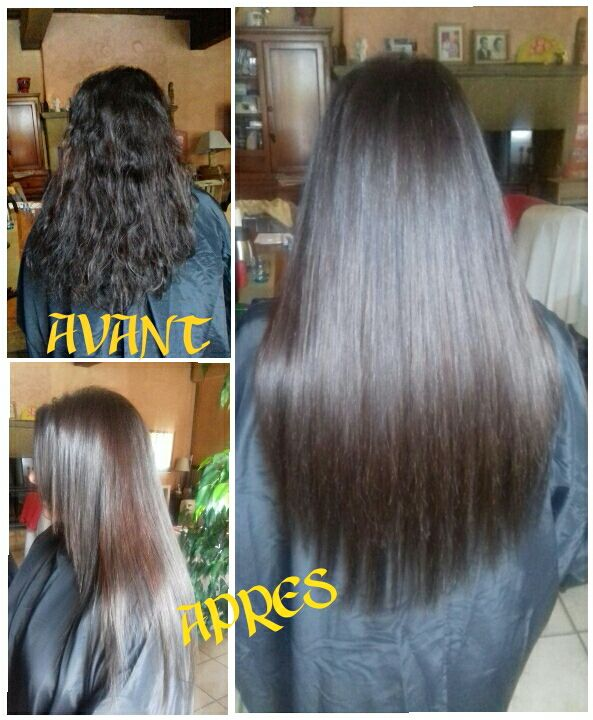 Extensions, coupe, lissage