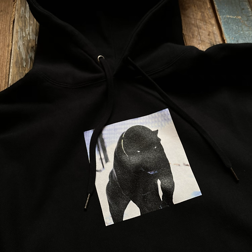 S&S Dog Panther Hoodie But it's a Big Cat