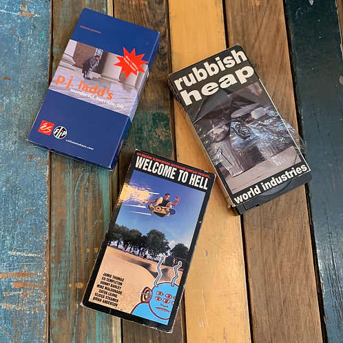 Original VHS Tapes from Todd Taylor