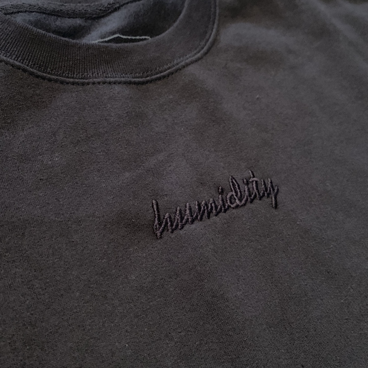 Thumbnail: Embroidered Script Crewneck
