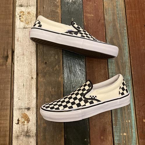 Vans Skate Slip-On Checker punk rock shit