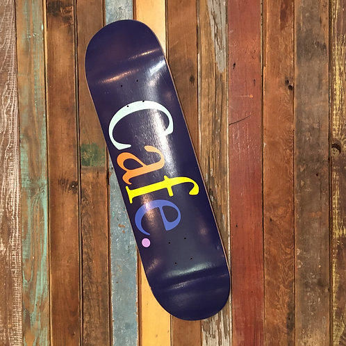 Cafe logo deck 8.375