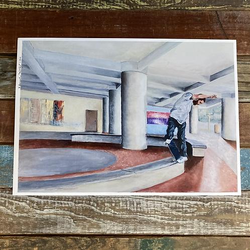 """""""METRO"""" by Ricardo Barrosse Oil Painting Print"""