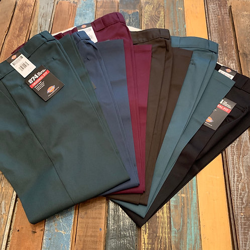 Dickies 874 Pant. Cuff once, cuff twice, but three times? Overboard