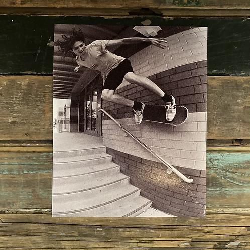 """Holden Basco, Wallride"" by Todd Taylor 8 x 10 Photo Print"