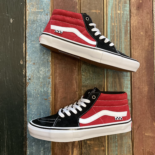 Rest In Peace Jeff Grosso. Vans Grosso Mid (Black/Red)
