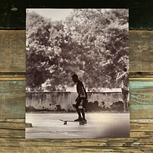 """""""First Day Skating"""" by Todd Taylor 8 x 10 Photo Print"""