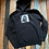 Thumbnail: S&S Dog Panther Hoodie But it's a Big Cat