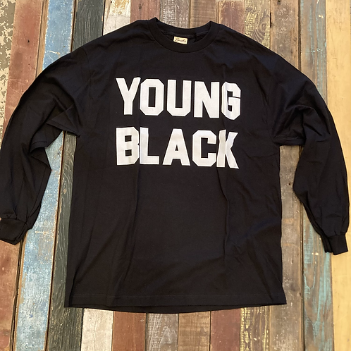 Snobs Young Black Longsleeve