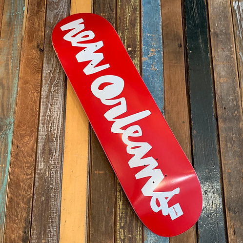 Chocolate New Orleans Deck from Jeremy Parrino