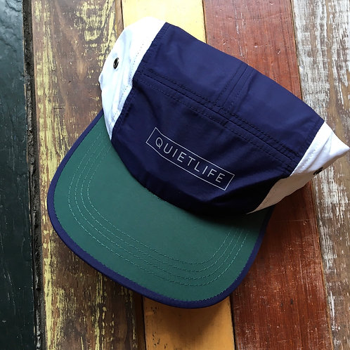 Quiet Life Color Block Camper Hat