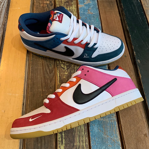 Friends and Family Parra Dunks from Philly Santosuosso
