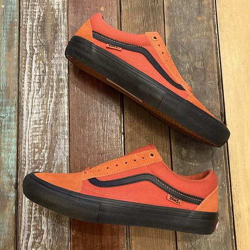 Vans Old Skool Pro (Orange size 7)