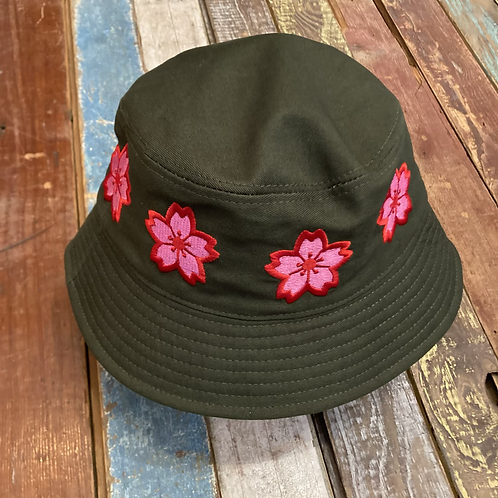 Like SUSHI Floral Bucket Hat