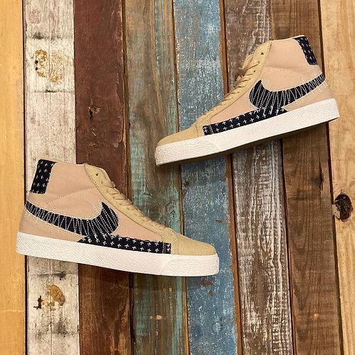 Nike SB Zoom Blazer Mid (Sesame & Navy)