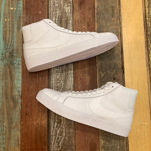 Nike SB Zoom Blazer Mid (All white shit)
