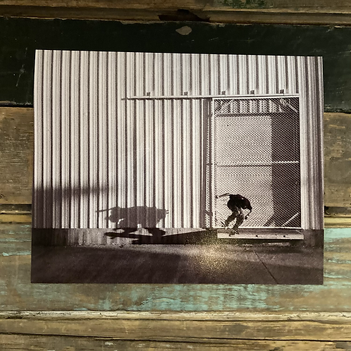 """""""Stephen Serrano, Fakie Nosegrind"""" by Todd Taylor 8 x 10 Photo Print"""