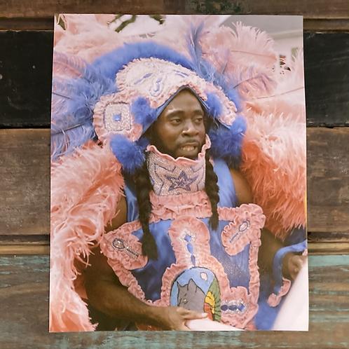"""Mardi Gras Indian"" by Todd Taylor 8 x 10 Photo Print"