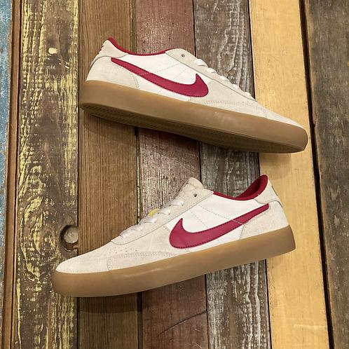 Nike SB Heritage Vulc (Summit White/Cardinal Red)