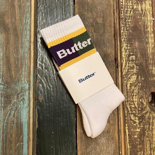 ButterGoods Mardi Gras Socks