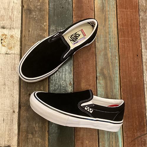 Vans Skate Slip-On Black/White shit