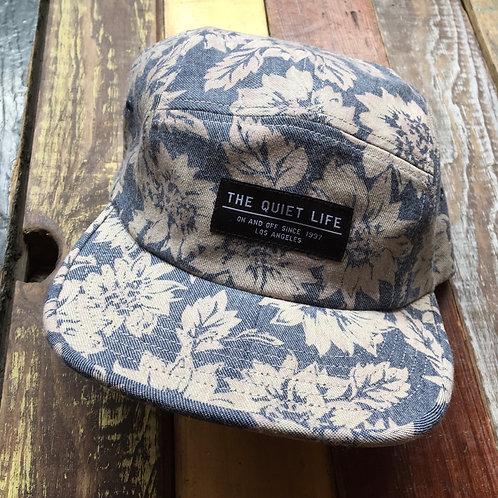Quiet Life Denim Floral Hat