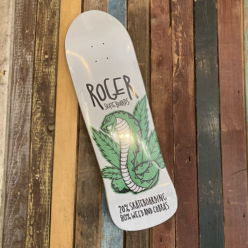 Roger 20% Skateboarding 80% Some other shit