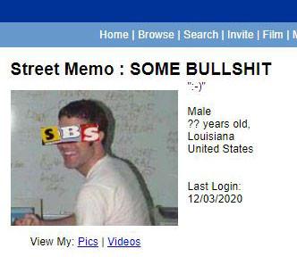 STREET MEMO : Some Bullshit