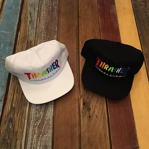 Thrasher Rainbow Snapback