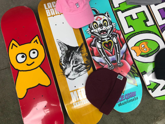 Now Carrying Meow Skateboards